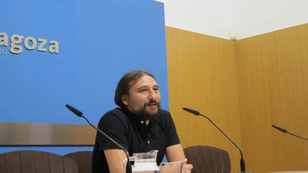 El concejal Pablo Híjar