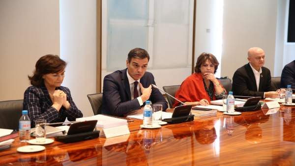 Pedro Sánchez con la Fundación para la Memoria de las Víctimas del Terrorismo