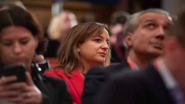 Iratxe García, elegida vicepresidenta primera del PES