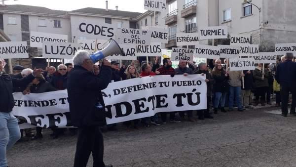 Manifestación Alcolea del Pinar