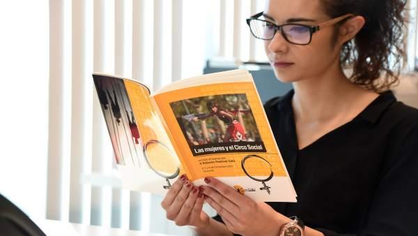 Libro editado por la Diputación de Granada, 'Las mujeres y el Circo Social'
