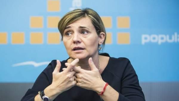 La diputada Elenea Bastidas