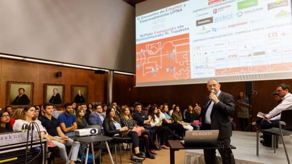 XI Encuentro de Empleo y Emprendimiento en la UPNA.