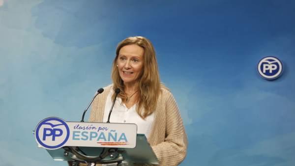 Marta González, vicesecretaria de Comunicación del PP
