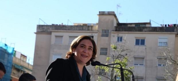 Ada Colau encabezará la candidatura de Barcelona en Comú después de que se haya retirado su ...