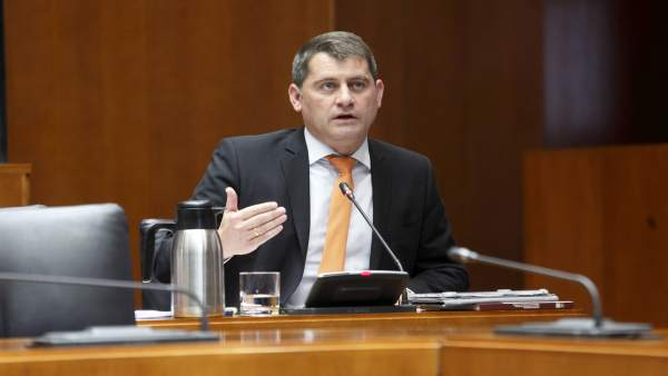 El portavoz adjunto del grupo parlamentario de Cs en las Cortes, Jesús Sansó