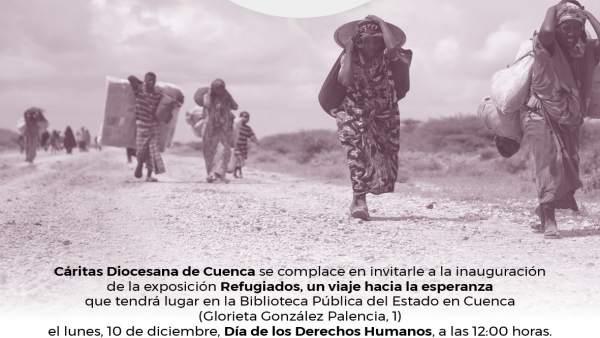 Exposición refugiados Cáritas Cuenca