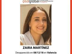 Desaparecida en Valencia