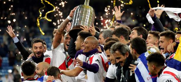 River Plate, campeón de la Libertadores tras vencer a Boca Juniors en Madrid
