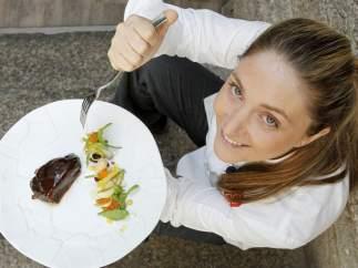 La cocinera Lucía Freitas
