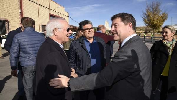 Presidente regional, Emiliano García-Page en Minglanilla