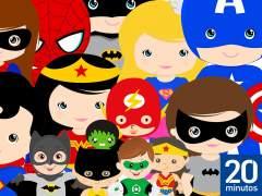 Padres superhéroes, niños con poderes
