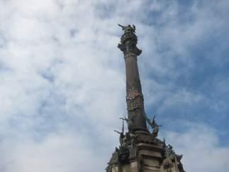 Monumento a Colón de Barcelona.