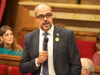 El conseller de Interior, Miquel Buch (ARCHIVO)