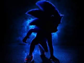 Cartel de 'Sonic', la película