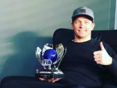 """Räikkönen, sobre su estado en la gala de la FIA: """"Sí, me lo pasé bien en una fiesta"""""""