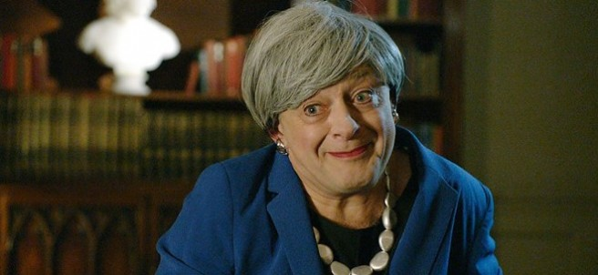 Andy Serkis convierte a Theresa May en Gollum