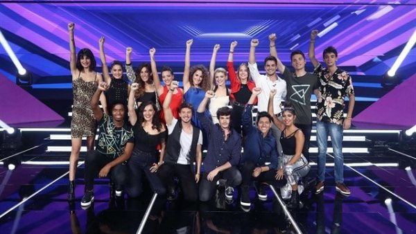 Concursantes de Operación Triunfo en la edición de 2018.