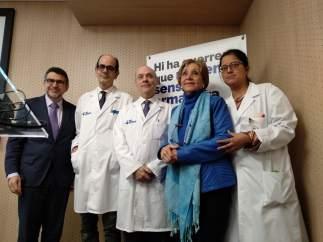 El Hospital Vall d'Hebron prueba una técnica pionera en tumor de páncreas.