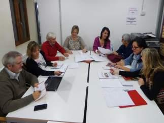 Reunión del Comité para elegir obras de la VII Muestra de Teatro de Biescas