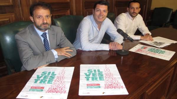 Presentación de la San Silvestre en el Ayuntamiento de Teruel