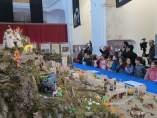 Belén de Playmobil que se puede ver en Cáceres