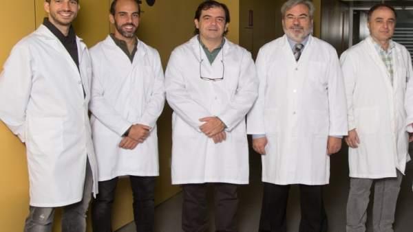 Grupo de investigadores del IRB Llieda