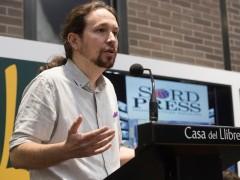 Pablo Iglesias en la presentación de Nudo de España