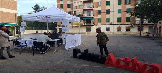 PalmaActiva difunde su oferta de servicios en Son Cladera