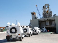 Vehículos Blindados 'Lince' Rumbo A  Líbano