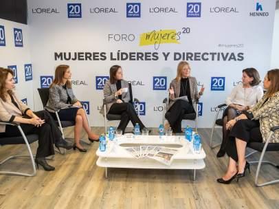 De izquierda a derecha: Pilar Martín, Ana Covas, Natalia González-Valdés, Encarna Samitier, Carmen Alonso y Patricia Jiménez.