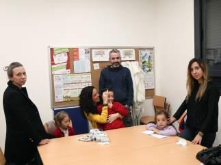 Padres y alumnos del CEIP Alfredo di Stefano de Valdebebas (Madrid).