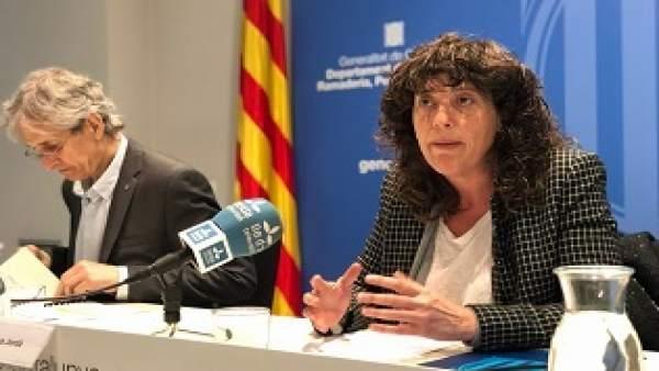 Oriol Anson y Teresa Jordà