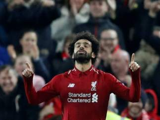 Gol de Salah con el Liverpool