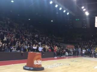 Partido de baloncesto del Estrasburgo