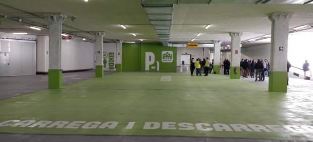 El parking de Brujas abre este jueves al precio promocional de 1,5 euros la hora