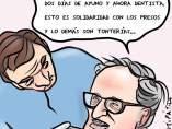 'Torra solidario', viñeta de Juan Aparicio Belmonte