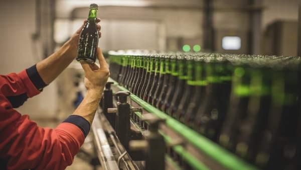 Cervezas Alhambra, centro de producción