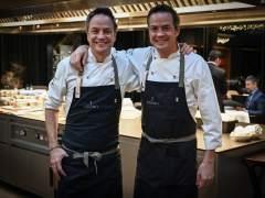 Los hermanos Torres en su restaurante de Barcelona