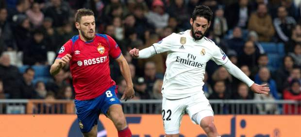 Isco Alarcón y su gesto de la discordia en el Bernabéu: