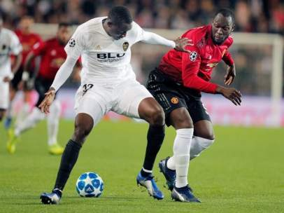 Valencia vs. Manchester United.