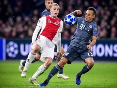 Ajax vs. Bayern de Múnich.