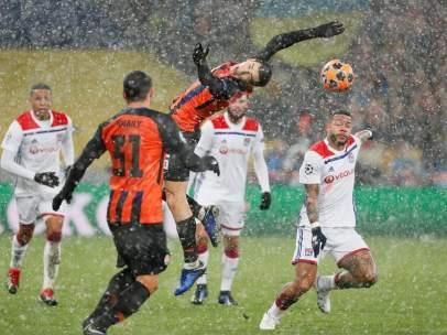Shakhtar vs. Lyon.