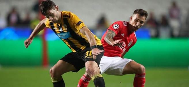 Benfica vs. AEK Atenas.