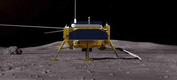 La sonda china Chang'e 4, más cerca de la cara oculta de la Luna tras lograr entrar en la órbita ...