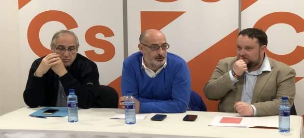 José López, Félix Álvarez y Rubén Gómez