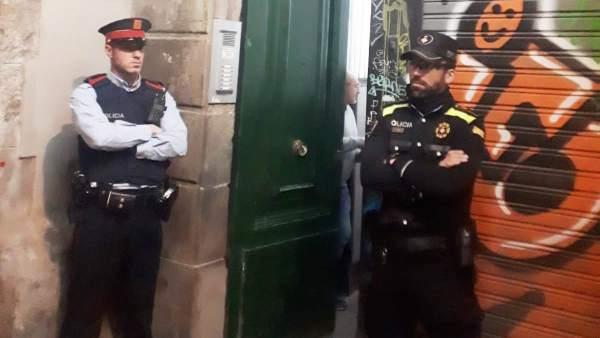 Operación contra un narcopiso del barrio Gòtic de Barcelona