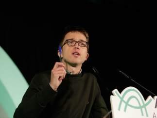 El candidato a la Comunidad de Madrid de Podemos, Íñigo Errejón