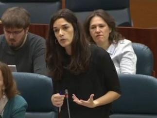 Clara Serra en la Sesión de Control 12 de diciembre