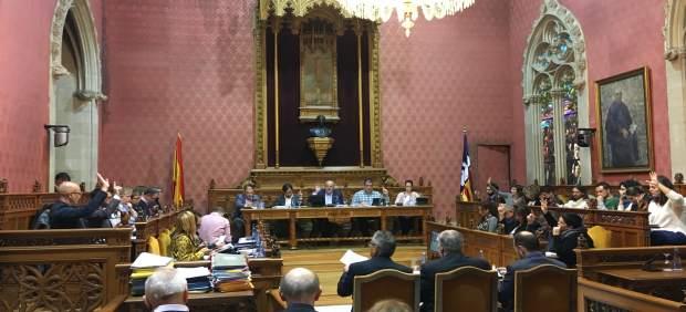 Pleno del Consell de Mallorca de este jueves